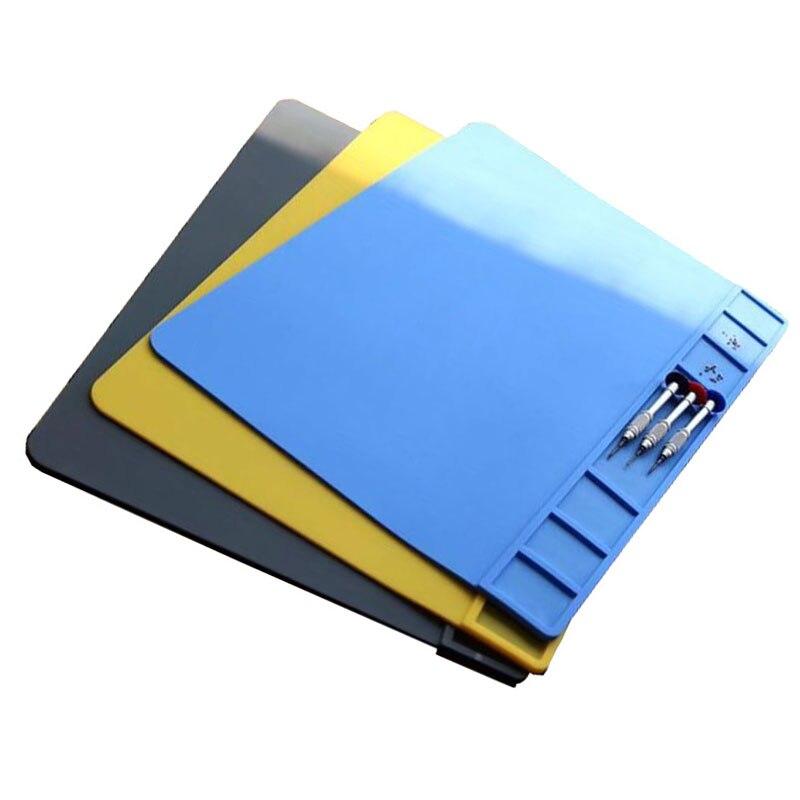 Hőszigetelő pad mobiltelefon javító eszköz mágneses csavar mat - Szerszámkészletek - Fénykép 6