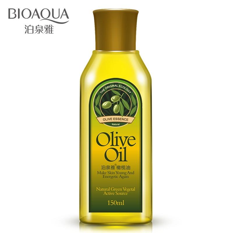 Bioaqua Olive Oil Skin Cleansing Water Massage Oil Emollient Hair Care Moisturizing Glycerin Pure Handguards
