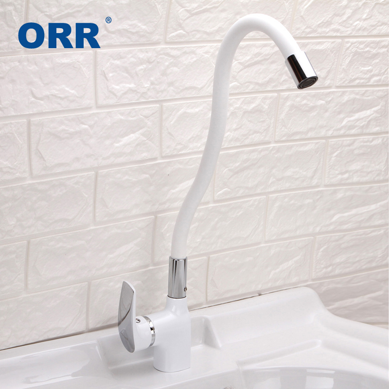 High Quality White Silica Gel Kitchen Faucet Any Direction Pull Out Cold and Hot Water Mixer Torneira de cozinha Grifo la cocina kemaidi high quality brass morden kitchen faucet mixer tap bathroom sink hot and cold torneira de cozinha with two function