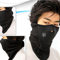 Outdoor Thermal Fleece Half Face winter motorcycle face mask Windproof waterproof motocross face mask