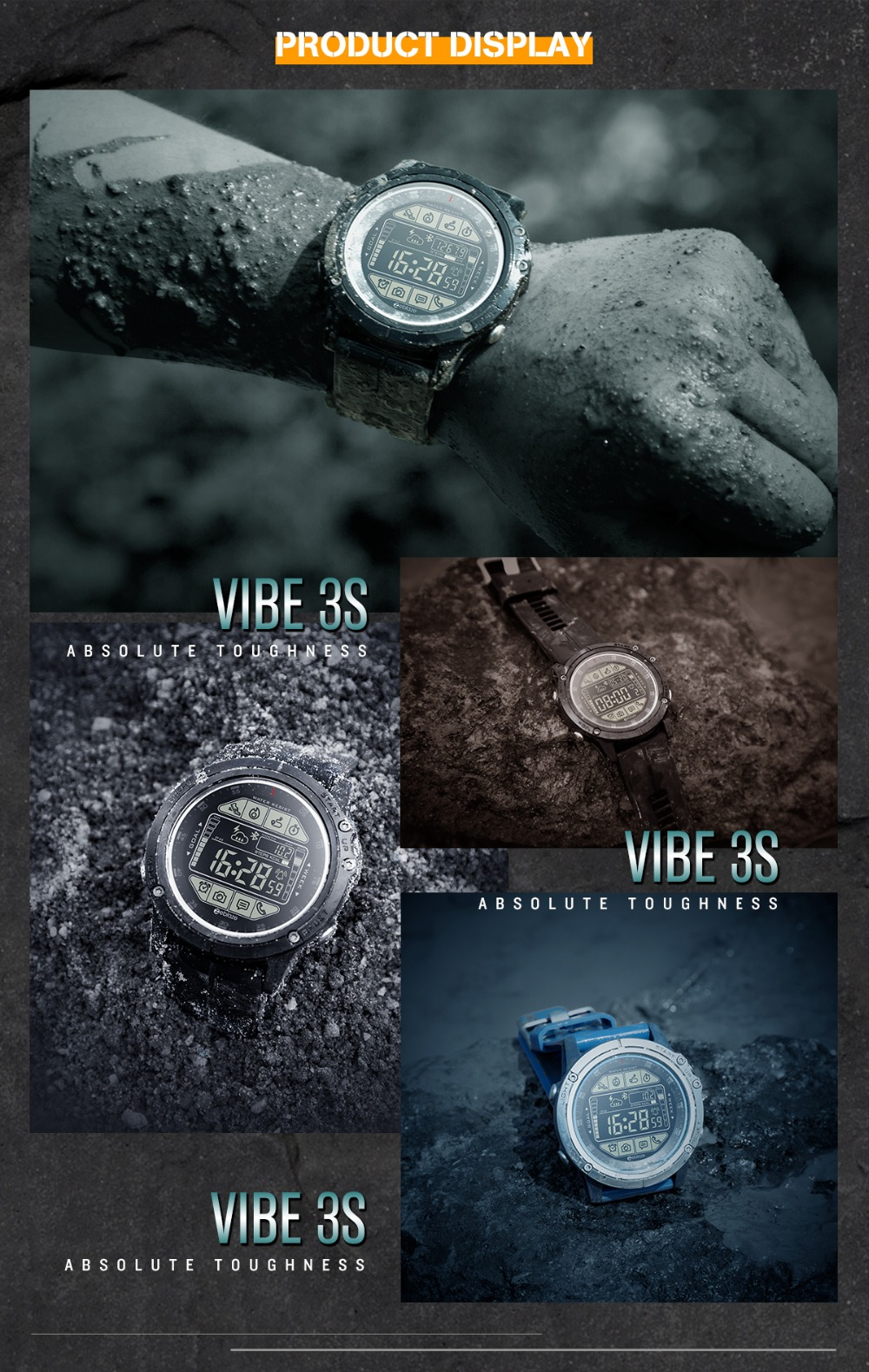 10 VIBE 3S montre intelligente