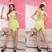 Jungle Hunter Robinhood Female Role Play Clothing Pirates Rogue Cosplay Halloween Costume Nightclub Sexy Cosplay Clothing