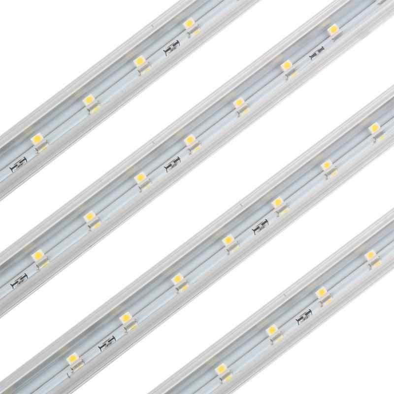 4 шт. теплый белый светодиодный светильник под шкаф 15 Светодиодный S лампочка украшение домашний шкаф кухонное освещение 220 В