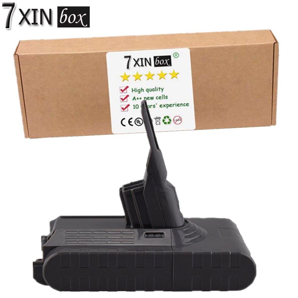 7 86.4Wh XINbox 4000 mAh 21.6 V sostituzione Batteria Aspirapolvere DYV8H per Dyson V8 214730-01 V8 Animale esclusivo