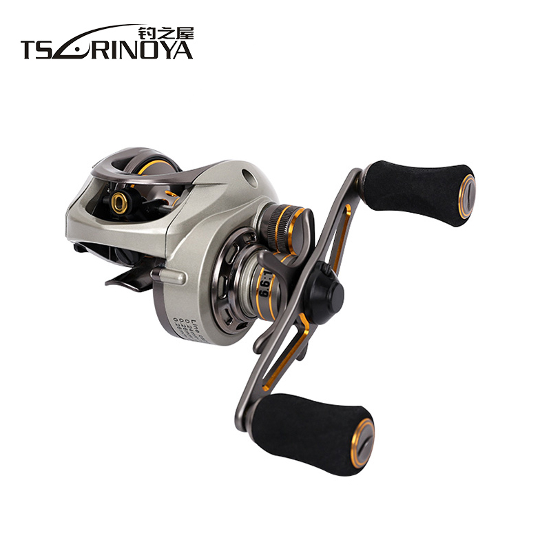Tsurinoya 10BB 6 6 1 CK 150L CK 150R Bait Casting Reel Magnetic And Centrifugal Double