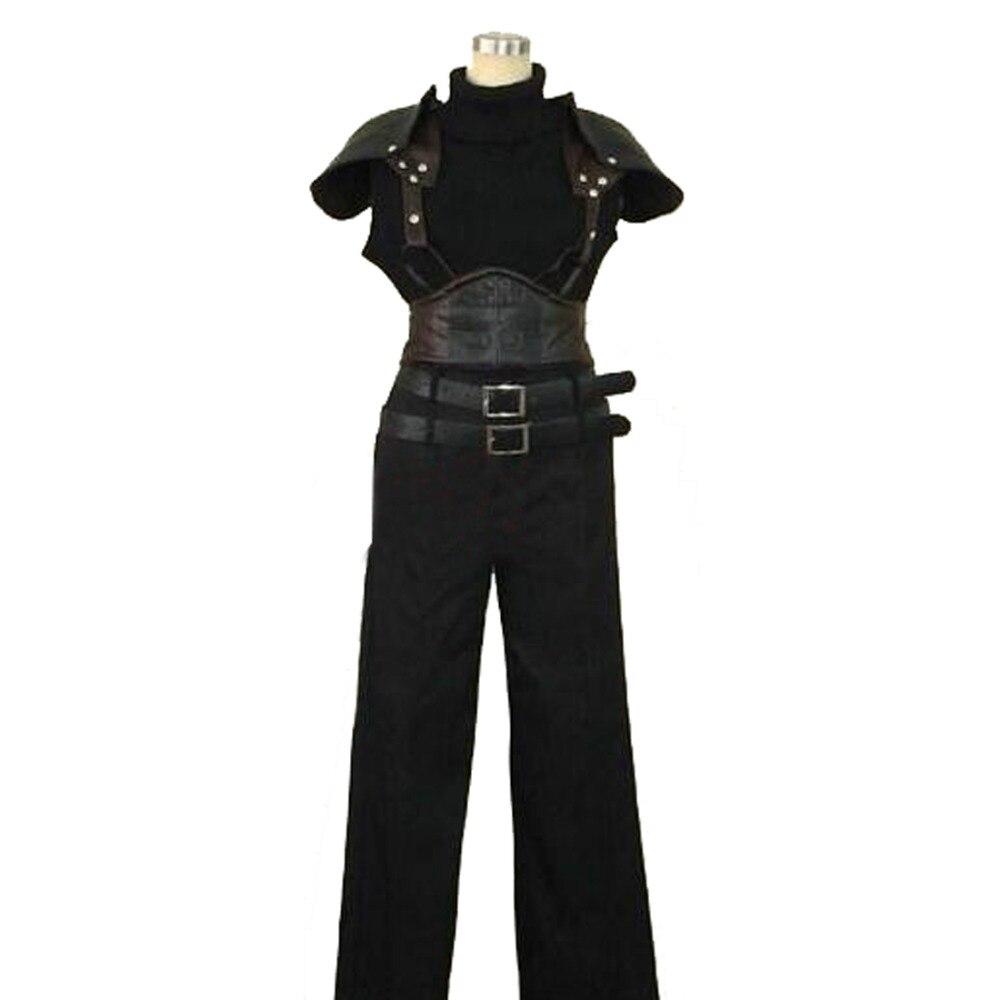 2018 Final Fantasy VII 7 Crisis Core Зак ярмарка Косплэй костюм одежда на Хэллоуин