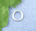 8SEASONS 1200PCs Silver Plated Open Jump Ring 5mm in Dia. (B00492)