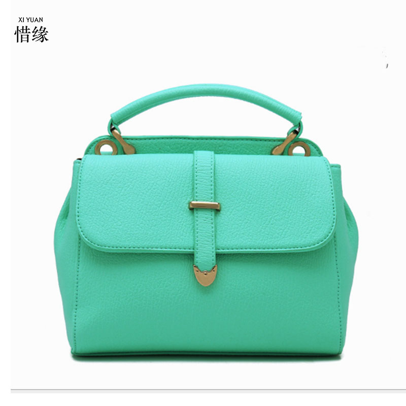 XIYUAN BRAND Tote Women Leather Handbags Ladies Party Shoulder Bags Fashion Top-Handle Bags high quality messenger crossbody bag xiyuan brand ladies beautiful and high grade imports pu leather national floral embroidery shoulder crossbody bags for women
