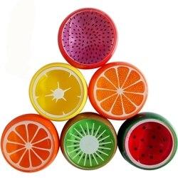 New Fruit cor Argila Do polímero de Cristal slime slime brinquedo Magnético Lama Lama Playdough Plasticina transparente para Crianças Mão Inteligente