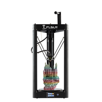 2019 FLSUN QQ-S High speed Delta 3D Printer auto-leveling touch screen large printing size