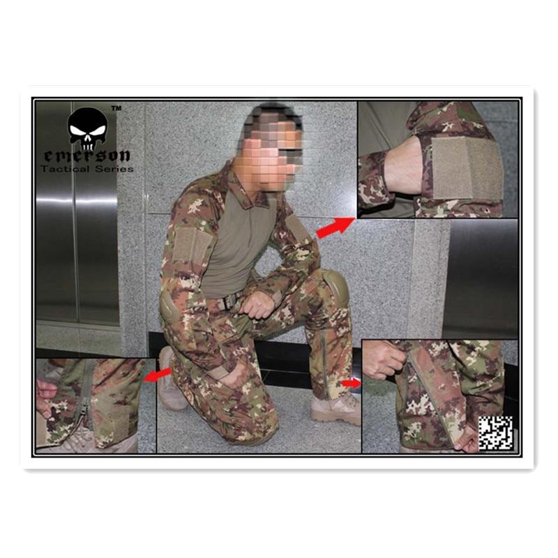 цена на Original EMERSON  VEG tactical suit with knee pad& elbow pad Suits  VEG