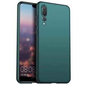 Image 1 - Para huawei p20 pro p30 pro case, capa de celular ultrafina minimalista, fina, protetora, traseira, para huawei p20 lite