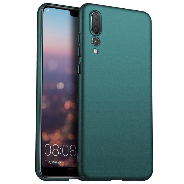 Para huawei p20 pro p30 pro case, capa de celular ultrafina minimalista, fina, protetora, traseira, para huawei p20 lite