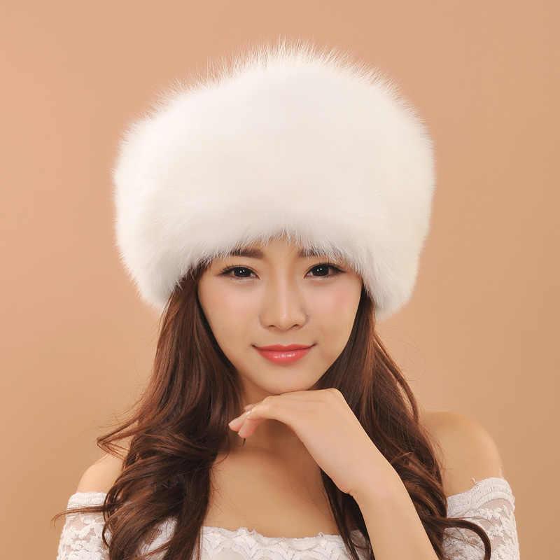 Новинка 2019 года; стильные меховые шапки с лисьим мехом; женские зимние теплые шапки; роскошные оригинальные кожаные кепки; модные шапки для девочек