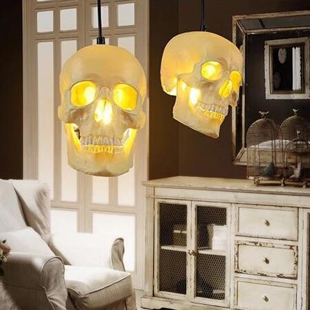 Popular Skull Pendant Light Buy Cheap Skull Pendant Light Lots From China Skull Pendant Light Suppliers On Aliexpress Com