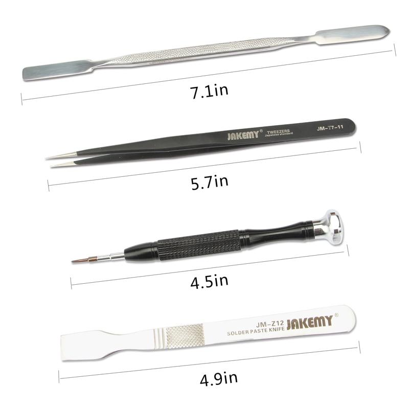 JAKEMY Kit di strumenti di riparazione Ferramentas cacciavite / - Set di attrezzi - Fotografia 5