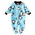 Marca Ropa de Bebé Pijamas Bebé Recién Nacido Mamelucos Animales de Lana Bebé Mono de La Manga Larga Chicos Chica de Primavera Otoño Ropa Desgaste