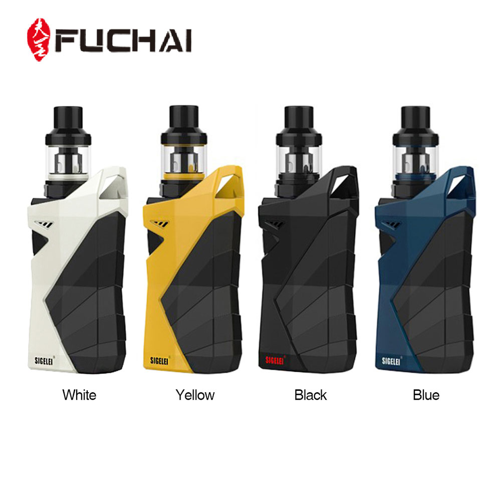 D'origine Fuchai R7 230 w TC Kit avec T4 Réservoir Max 2.5 ml E-jus de Capacité POWER Support/ SS/Ti1/Ni200/TCR Mode No 18650 Batterie