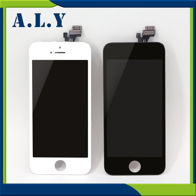 10pcs/LOT A+++ High Quality For iPhone 5s LCD Display LCD Touch Screen Digitizer Assembly for iPhone5s Replacement.Free Shipping