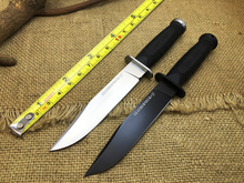 Newest Cold Steel 39LSFD Leatherneck SF Hiking Camping Fixed Knives D2 Blade+ABS Handle Survival Hunting Knife Tactical ECD