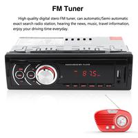 Fm Aux Input Receiver Support Mmc Sd Usb Mp3 Wma Display Auto In dash 1 Din Led Display Auto Car Radio Stereo Audio Player