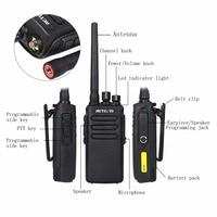 מכשיר הקשר 2pcs 10W DMR Digital Radio IP67 טווח ארוך רדיו Waterproof מכשיר הקשר Retevis RT81 UHF400-470MHz 2Zone VOX מוצפן שני הדרך (5)