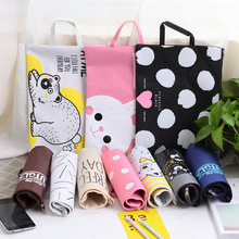 hot deal buy kawaii stationery cute cartoon animals a4 file bag creative document bag office & school supplies file folder filling products