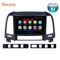 """Seicane 9 """"Android 8.1 2din autoradio pour HYUNDAI SANTA FE 2005 2006 2007 2008 2009 2010 2011 2012 unité de tête de lecteur stéréo GPS"""