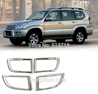 Free Shipping Front And Back Fog Light Rear Lamp Cover For 2003 2009 Toyota Prado FJ120