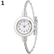 цены на Women's Fashion Casual Steel Wire Quartz Analog Bracelet Bangle Wrist Watch Store 51  в интернет-магазинах
