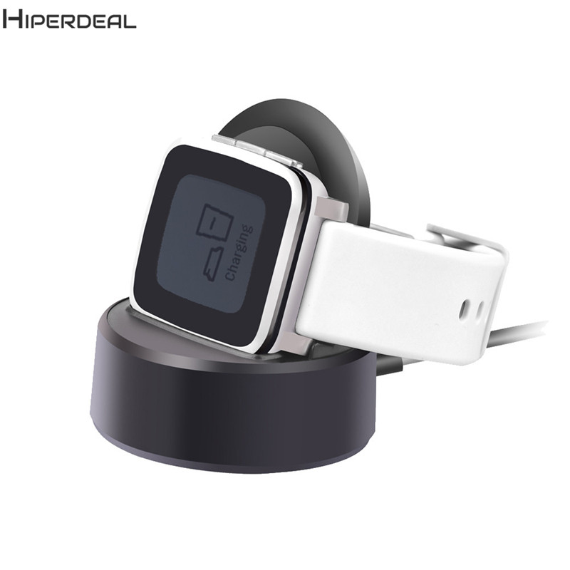 HIPERDEAL 2017 New Arrival Portable USB Charging Vertical Magnetic Vertical Charger Data For Pebble Time Steel Smart Watch SE28AHIPERDEAL 2017 New Arrival Portable USB Charging Vertical Magnetic Vertical Charger Data For Pebble Time Steel Smart Watch SE28A