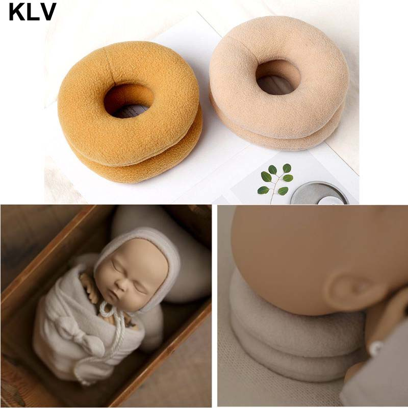 2pcs Newborn Photography Props Posing Support Pillows Baby Boy Girl Photo Props
