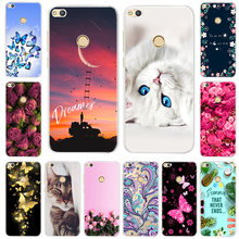 Fashion Soft TPU Silicone Case For Huawei P9 Lite Cover Mini Phone P9lite Cases Funda