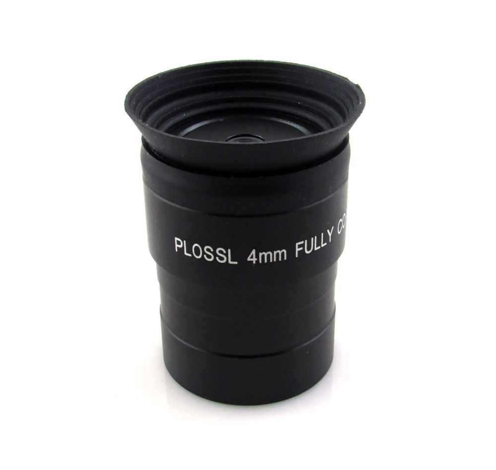 Высококачественные Новые окуляры 1,25 дюйма (31,7 мм) PLOSSL 4 мм с многослойным покрытием для астрономического телескопа, бесплатная доставка