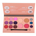 Miss doozy Eyeshadow Plate Balm Lipstick Blush Brush Colorant Concealer Contour Corrector Cosmetic Gift Makeup Palette Shadow