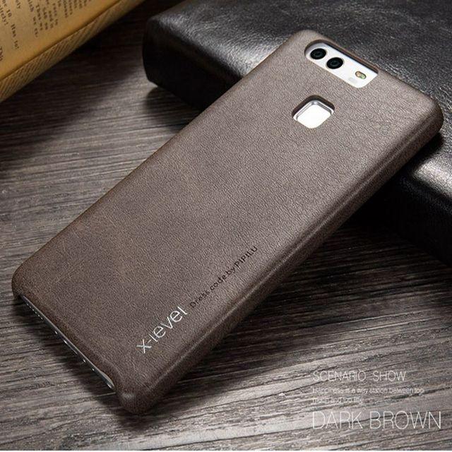 X-Mức Độ Sang Trọng Da Điện Thoại Trường Hợp Đối Với Huawei P9 Cứng Bìa Đối Với Huawei Honor 8 Lite V9 9 P10 p9 Lite Cộng Với Người Bạn Đời 9 Pro Etui EVA-L19