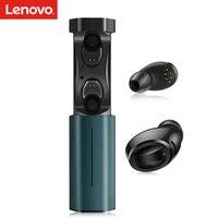 Lenovo воздуха TWS Bluetooth наушники спортивные Беспроводной Bluetooth наушники-вкладыши стерео наушники IPX5 Водонепроницаемый с микрофоном