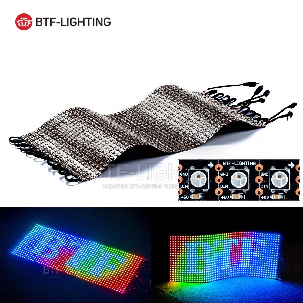 WS2812B Panel Screen 20*50 1000 Pixels Digital Flexible LED Programmed Individually Addressable Full Color DC5V