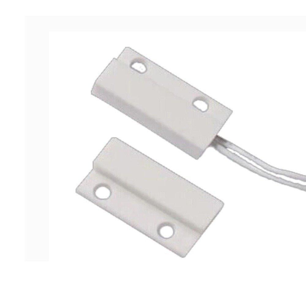 5 STÜCKE) Verdrahtet Kunststoff Magnet Sensor Tür Fenster detektor ...