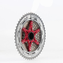 купить MTB 11-50T 11 Speed Cassette Wide Ratio Mountain Bike Freewheel Sprockets For Shimano m7000 m8000 m9000 SUNRACE Bicycle Parts по цене 3557.47 рублей