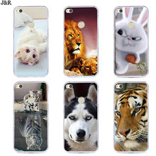 For Huawei P8 P9 Lite 2017 Cover For Honor 8 Lite Case Painted Cartoon For Huawei Nova Lite Soft Silicon Phone Bags GR3 2017(China)