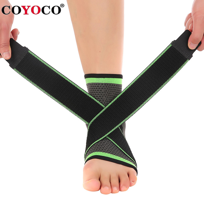 95eb6fd6bc COYOCO 1 Pcs Pressurizable Foot Anti Sprain Bicycle Ankle Guard Warm Nursing