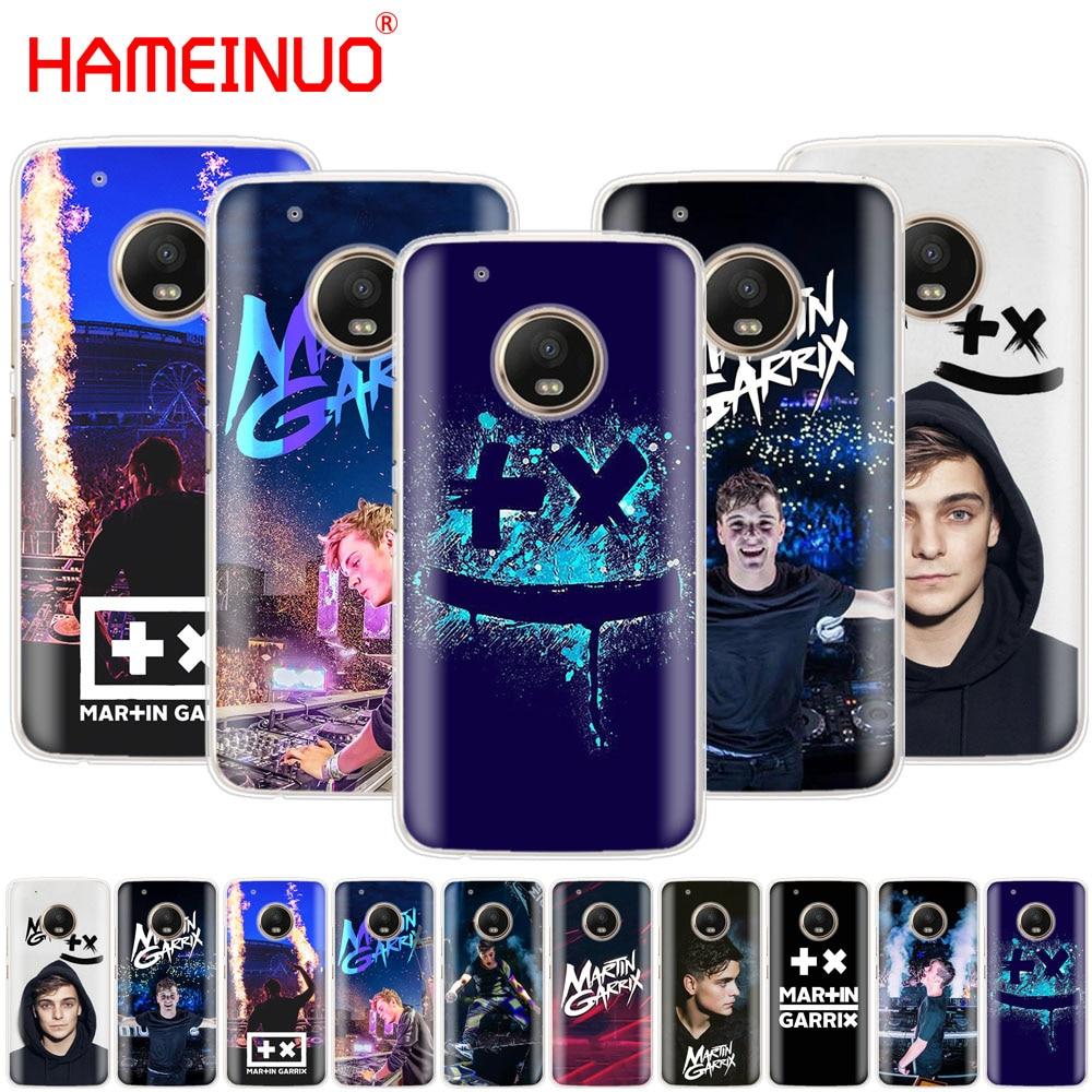 HAMEINUO DJ Martin Garrix Music note case phone cover For Motorola Moto X4 E4 C G6 G5 G5S G4 Z2 Z3 PLAY PLUS
