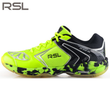 Original RSL Men's woman Saga Light Badminton Shoes Training Breathable Anti-Slippery Light Sneakers Sport Shoes RSL 0115