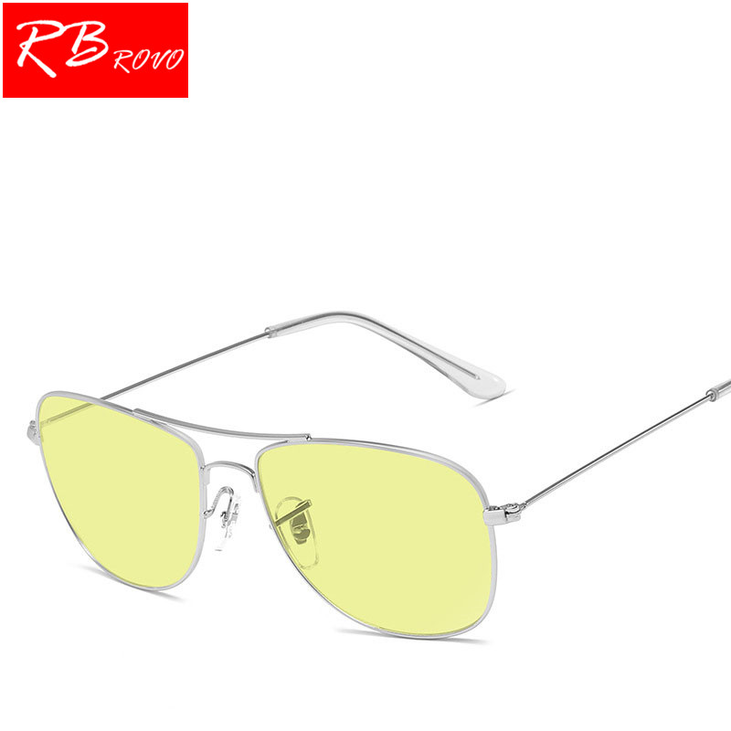 RBROVO New Pilot Sunglasses Women/Men Top Brand Designer Ocean Lens Sun Glasses For Women Retro Outdoor Driving Oculos De Sol