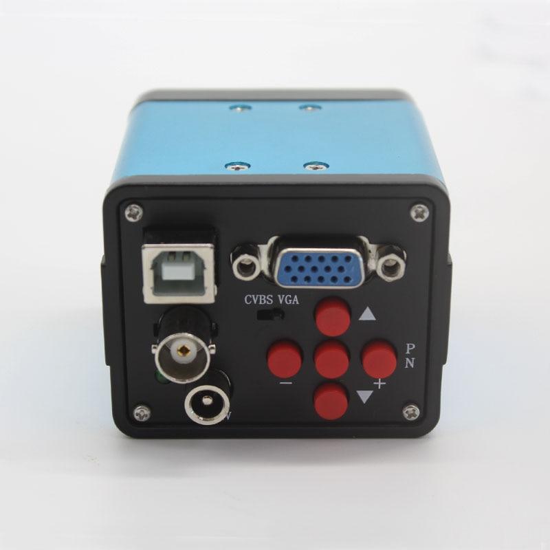 HD 1080P 2.0MP Industrial Microscope Camera VGA USB AV Three Output Interface Video Camera No Smear PCB Detection
