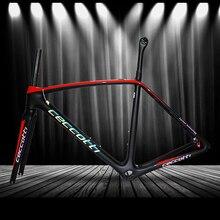 Фабрика отражение фотографии дорожная карбоновая рама волокно рама для гоночного велосипеда глянцевая матовая БСА BB30 для DI2 механический каркас