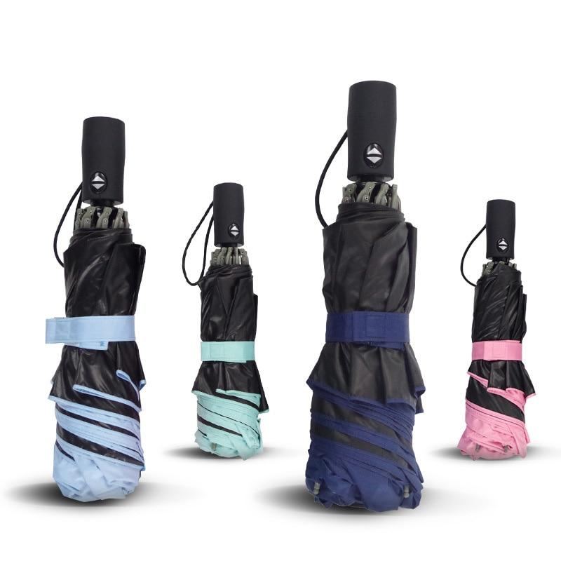 1PC Full Automatic Reverse Umbrella UV Protection Umbrellas Sun And Rain 5C7