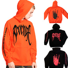 Men Drawstring Sweatshirt Revenge Hoodie Hooded Sweatshirts Sweat Loose Fabala Long Sleeve Casual Pullover