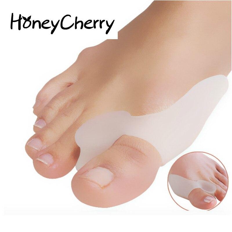 Big Foot Orthosis Silicone Hallux Valgus Toe Separator Single Hole hallux valgus orthotics big toe corrector foot pain relief feet guard care bone corretivo bunion night and day used splint